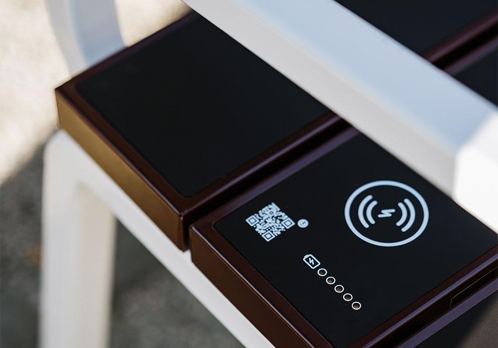 Banc Steora Classic chargeur sans-fil Qi